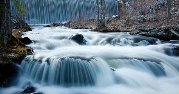 Old Reservoir 1 Of 2 Reservoir Waterfall Outdoor