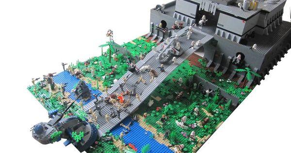 Lego pinterest lego lego star wars and lego star - Lego star wars base droide ...