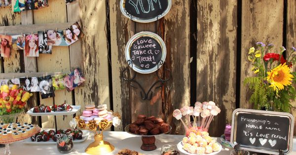 Perfect for a rustic and vintage sweet 16 :) | Sweet 16 ...