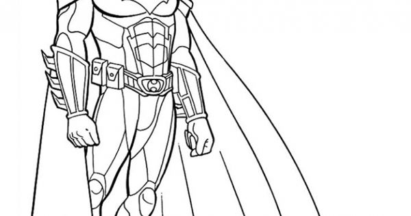 the dark night coloring pages - photo#22