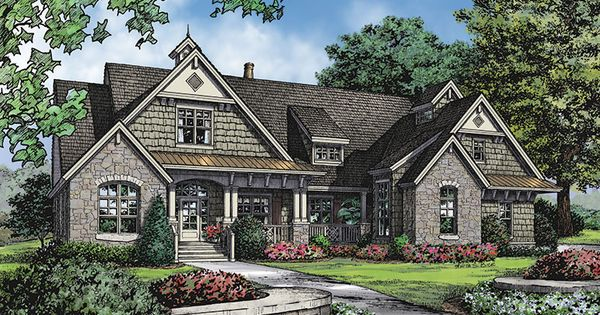 Plan Of The Week Over 2500 Sq Ft The Sagecrest House