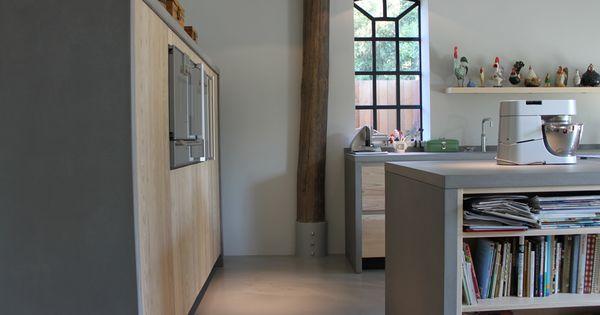 ... keuken  Houten keukens  maatwerk  Pinterest  Google, Met and U nu