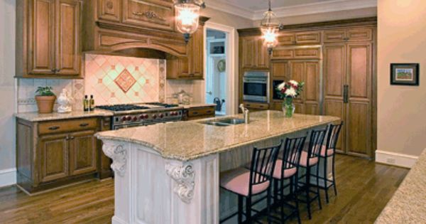 Cwp Custom Kitchen Center Island Custom Range Hood Granite Countertop John Madison Nj