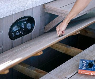 Deck Tours 4 Distinctive Designs Hot Tub Deck Deck Design