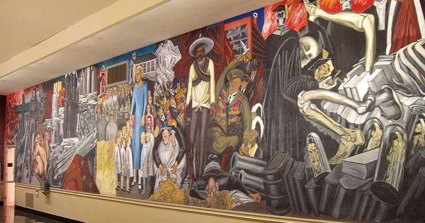 Orozco mural at dartmouth jose clemente orozco muralista for Mural mexicano