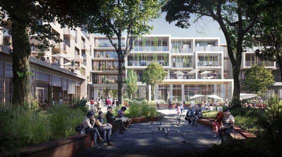 C F Moller Architects And Tredje Natur Win Future Solund In Copenhagen Commercial Architecture Architect Architecture Visualization