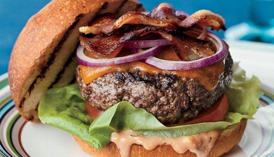 28 awesome burger recipes including banh mi burger, sriracha bacon burger, lamb