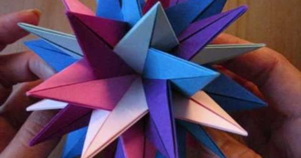 how to make an origami tuvwxyz star 3d stern origami pinterest origami origami stars. Black Bedroom Furniture Sets. Home Design Ideas