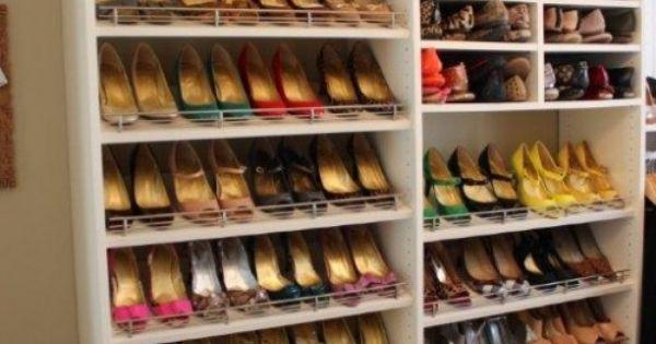 i donu0027t have this many shoes but interesting idea master closet pinterest master closet and storage