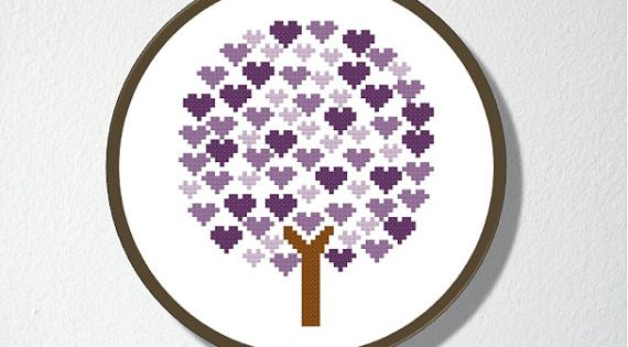 Etsy - Counted Cross stitch Pattern PDF. Instant by CharlotteAlexander