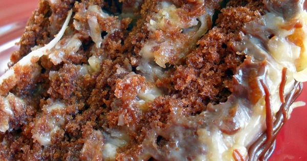 German Chocolate Frosting With Whole Eggs