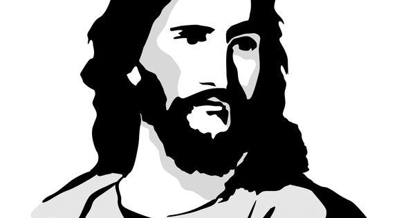 Clip Art Jesus Silhouette
