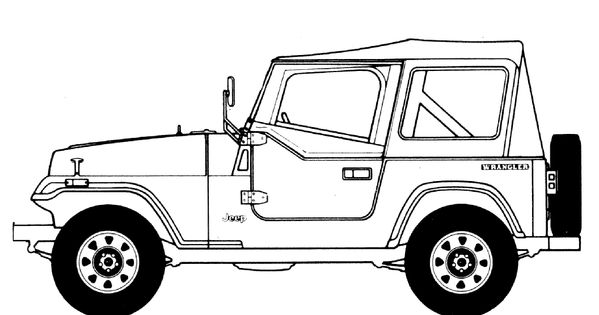 printable jeep and truck coloring pages