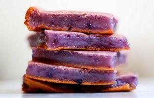 Okinawan Sweet Potato Mochi  Mochi cake, Okinawan sweet potato