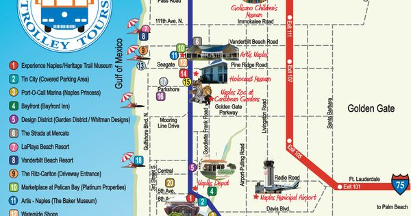 Naples trolley coupons