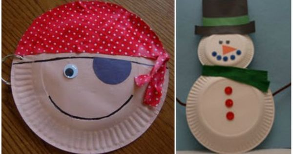 35 crafts using paper plates! Love paper plate crafts
