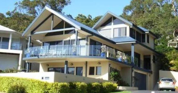 Double Storey Gabled Roof House Australia Modern Google Search Gable Roof Design Gable Roof House Roof Styles