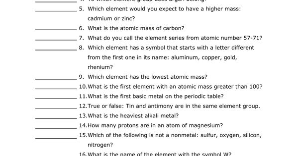 Worksheets Periodic Table Scavenger Hunt Worksheet Answers periodic table scavenger hunt worksheet answers davezan hunts and 39 s on pinterest abitlikethis