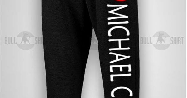 i need this in my life... I love Michael Clifford 5SOS Sweatpants
