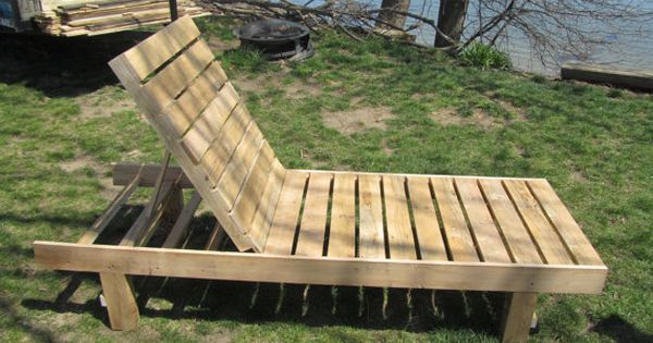 Outdoor Chaise Lounge Made In Maine From 100 Recycled