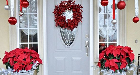 Top 10 Inspirational Christmas Front Porch Decorations | The best Christmas Decor