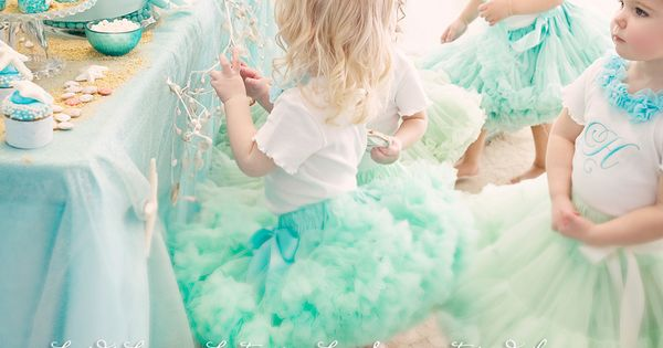 Annie your daughter must have this party! -mermaid theme children's party aqua,