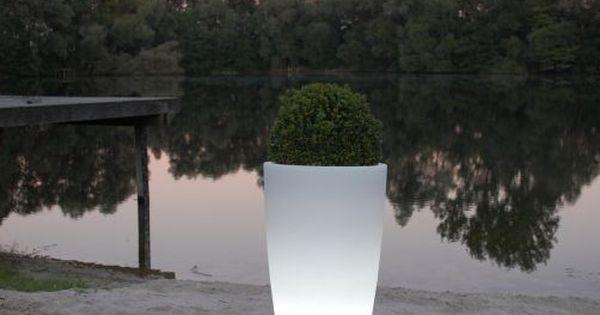 Vintage Pflanzk bel Kunststoff beleuchtet LED am See Dekoration f r Haus und Garten Garten Pinterest Dekoration Am and LED