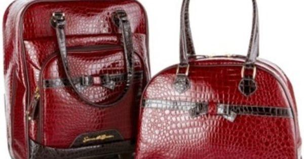 Samantha Brown Luggage Qvc: Samantha Brown 2-piece Cabin Bag And Tote Set