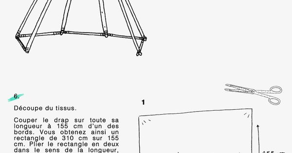 diy construire un tipi pour enfant deco pinterest fils anniversaire et bricolage. Black Bedroom Furniture Sets. Home Design Ideas