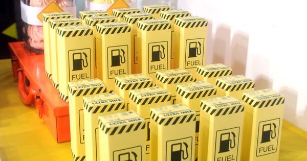 Juice Boxes | construction theme birthday construction truck birthday party