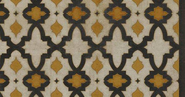 Black Mustard Ikat Vinyl Floor Cloth 20 X 30 Piper Classics With Images Vinyl Flooring Kitchen Floor Cloth