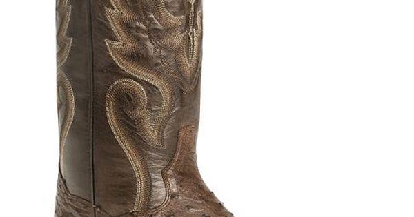 Dan Post Full Quill Ostrich Cowboy Certified Boot | Cowboy Boots ...