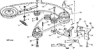 Rx 75  U0026quot Deck Belt Diagram U0026quot