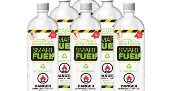 Smartfuel Pourable Liquid Bio Ethanol Fuel For Ventless Fireplaces