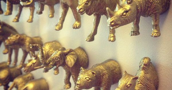 Animal Magnets. DIY gift idea