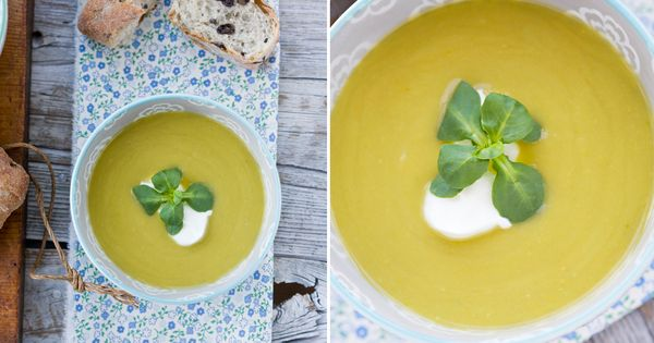 Green pea soup, Pea soup and Fennel on Pinterest