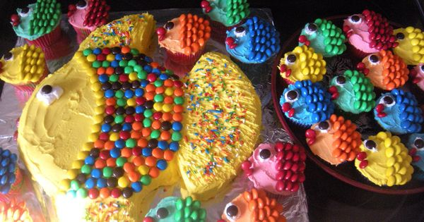 Fishy Cakes