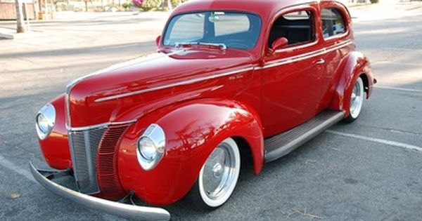 1940 Ford De Lux Sedan Classic Cars Ford Classic Cars 1940 Ford