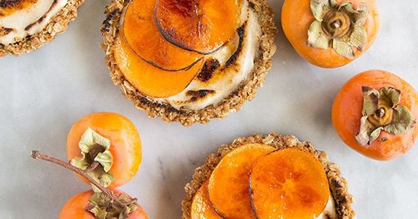 ... Recipes | Persimmon Recipes, Cinnamon Cream Cheeses and Tarts
