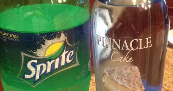 Pinnacle cake vodka and Sprit. Tastes like a key lime pie.