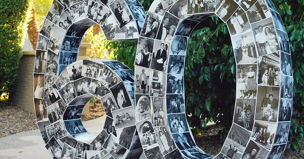 60th Birthday Photo Numbers