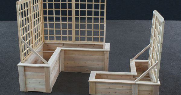 L Shaped Planter Boxes Raised Beds Planters And Beds 400 x 300
