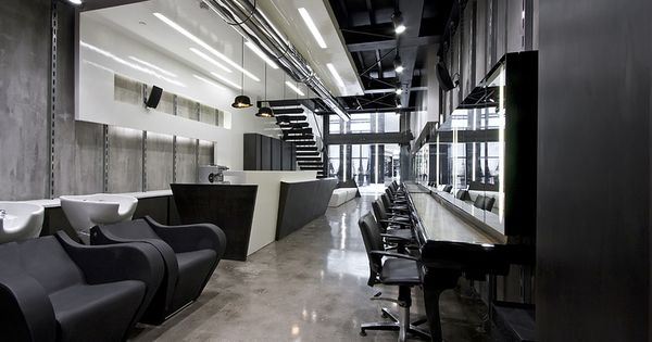 futuristic ultra-modern salon design ideas | Hair Salon ...