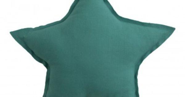 Coussin toile bleu turquoise numero 74 objets d co for Objet deco turquoise