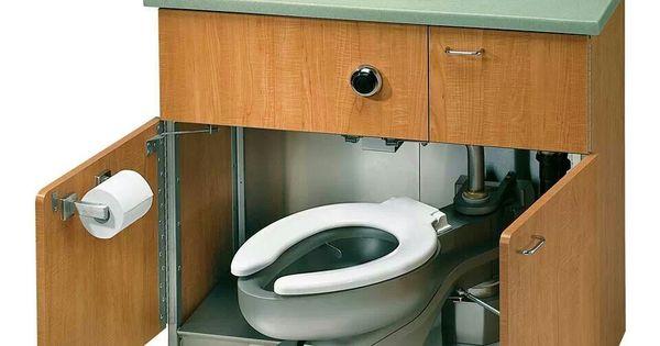 compact toilet and sink for camper camping pinterest wohnwagen camper und ausbau. Black Bedroom Furniture Sets. Home Design Ideas
