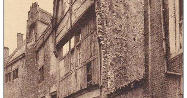 Antwerpen pays bas stoelstraat 11 oud huis gebouwd in for 9 rue de la chaise