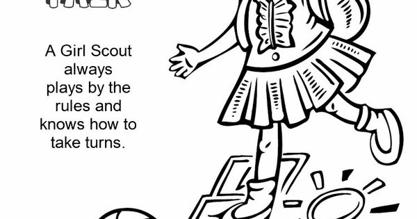 Girl Scouts Honest And Fair Print This Page And Have The