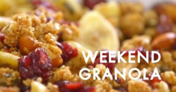 Food Network Siba Granola
