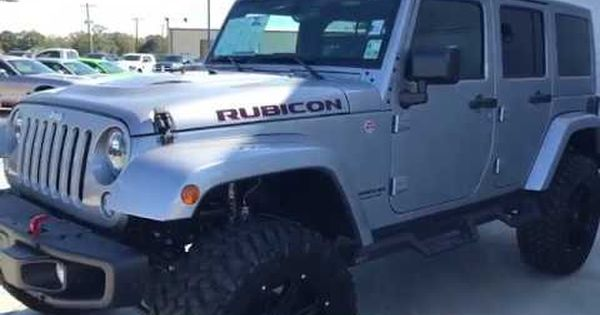2016 Jeep Wrangler Unlimited Rubicon For Sale Near Baton Rouge At
