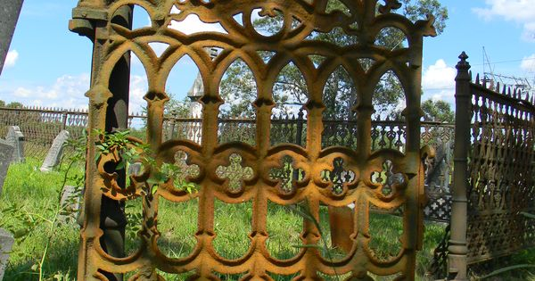 Gothic Wrought Iron Gate